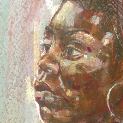 Girl with the large ear-ring    2005