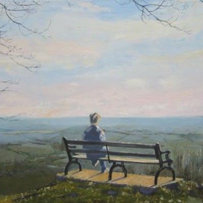 The Bench on Stinchcombe Hill